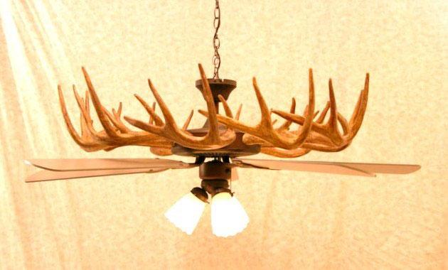 antler ceiling fan light kit antler ceiling fans
